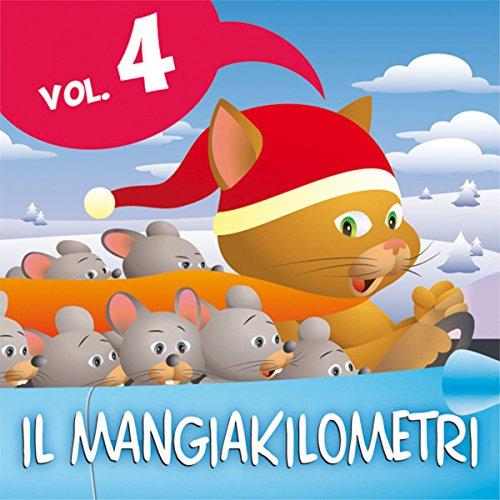 Couverture de Le fiabe del Mangiakilometri Vol. 4. Natale