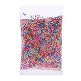 ZJL220 Plastic Rainbow Sprinkles Fluffy Floam Slime Clay Mud DIY Slime Accesorios 26g...