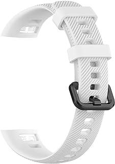 Mjukt silikonarmband byte klockarmband armband för Huawei Band 3 Pro och Band 4 Pro