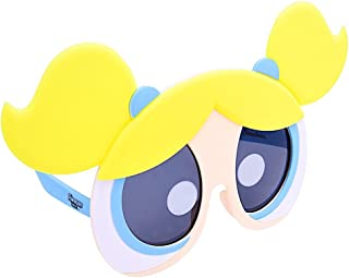 Costume Sunglasses Power Puff Girls Bubbles Sun-Staches Party Favors UV400