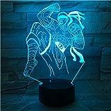 League Of Legends Lol Heros Tischlampe Schlafzimmer Touch Sensor 7 Farbwechsel Nachtlicht...
