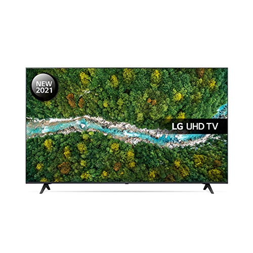 LG 50UP77006LB 50 inch 4K UHD HDR Smart LED TV (2021 Model) with Freeview Play, Prime Video, Netflix, Disney+, Google Assistant and Alexa compatible