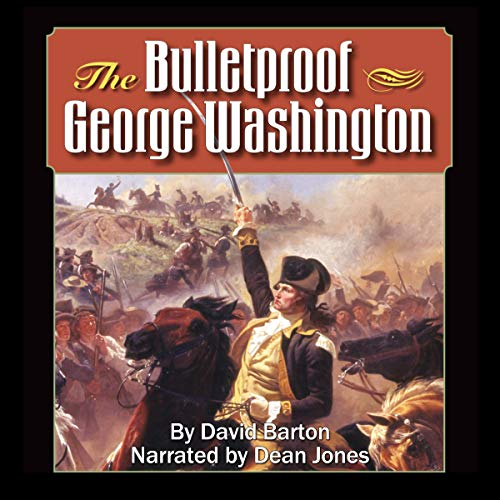 The Bulletproof George Washington audiobook cover art