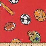 Mook Fabrics Superweicher Velours-Fleece-Stoff, Rot