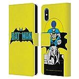 Head Case Designs sous Licence Officielle Batman DC Comics Classique 2 Logos Coque en Cuir à...