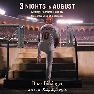 Three Nights in August audiobook cover art
