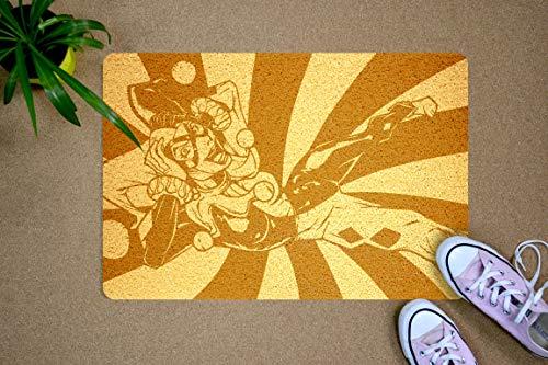 StarlingShop Harley Quinn Felpudo para Puerta de Harley Quinn, Felpudo de Bienvenida, Felpudo, Alfombra para Puerta ecológica, decoración para el hogar, Regalo de cumpleaños, Regalo de Nueva casa