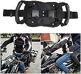 SDLAJOLLA Motorcycle Scooters Safety Belt, Motorcycle Passenger Safety Belt System, Safe Adjustable Strap Grab Handle New for Children Motorcycle Passenger