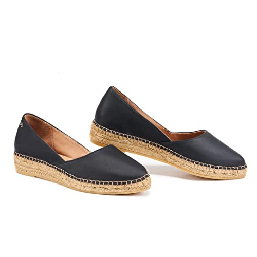 VISCATA Handmade in Spain Rascassa Leather Authentic and Original Flats with Innersole Cushion