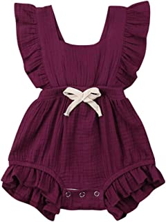 c4c581ff2 Amazon.ca  Purple - Rompers   Bodysuits   One-Piece Suits  Clothing ...