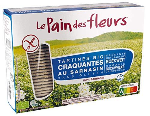 Le Pain des Fleurs Lpdf Tostadas Crujientes Trigo Sarrace Bio - Sin G/S/A 300 g