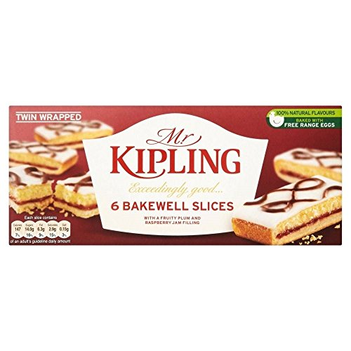 Mr Kipling Bakewell Scheiben (6)