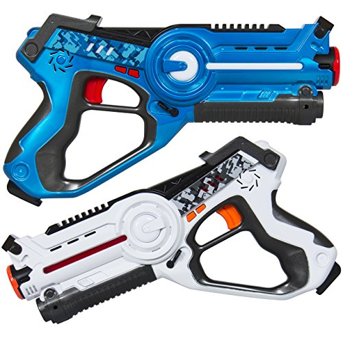 Best Choice infrared 4-player laser tag blaster set