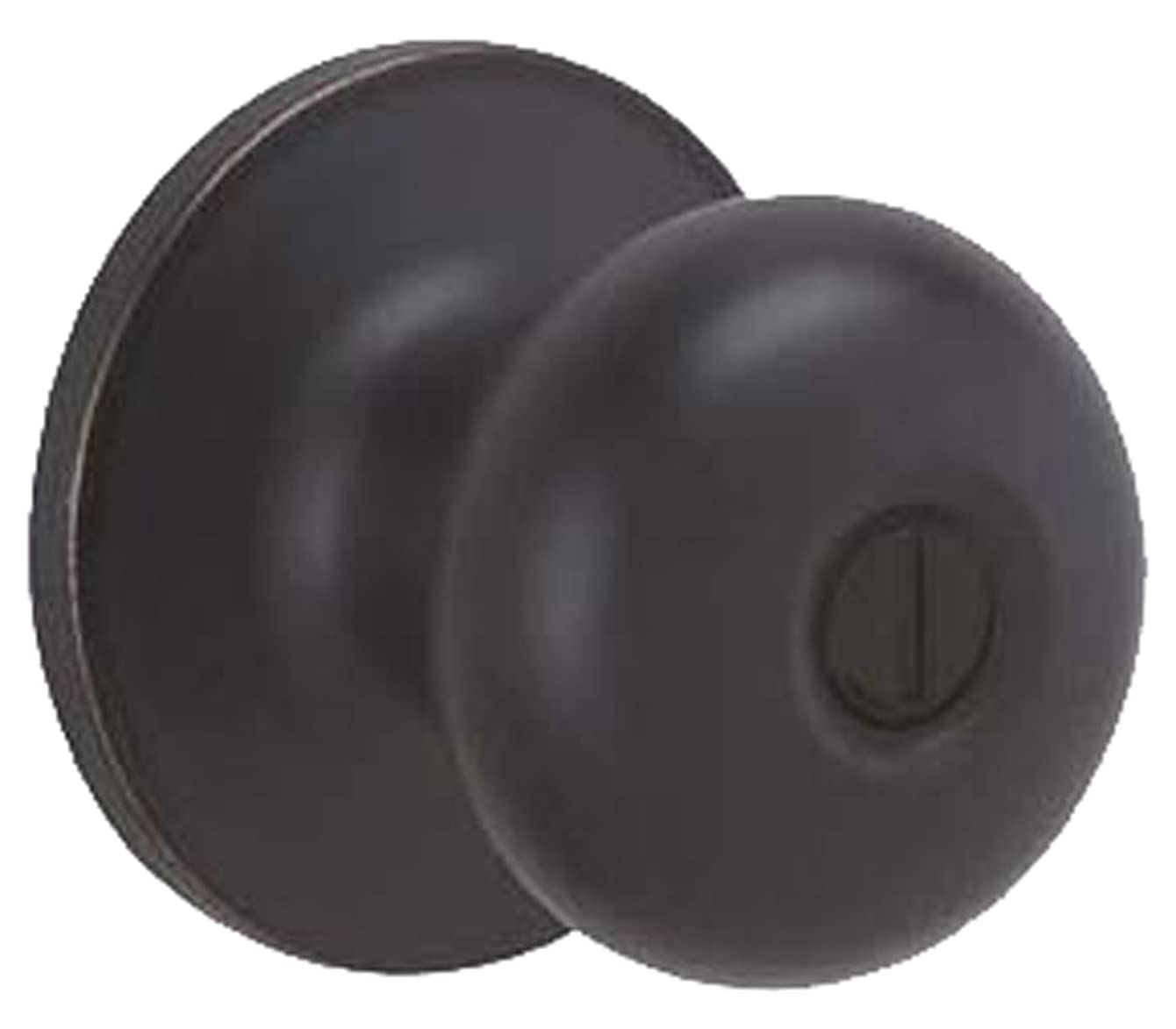 Dexter by Schlage J40STR716 Stratus Bed and Bath Knob, Aged Bronze