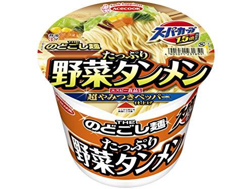 エースコック スーパーカップ 1.5倍 野菜タンメン 108g ×12個
