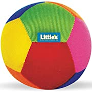 Little's baby ball is an extra soft plush toy with rattle sound It helps your baby naturally develop concepts of colour, shape, size and sound through fun filled play activity If you are looking for a toy that is soft, has no sharp edges, is big enou...