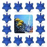 Nobleza - 12 x Acuarios Piedras Difusor, Piedra de Aire Burbuja Estrella de Mar Piedra Porosa de Aire Bomba de Pecera Disco Difusor de Oxígeno para Peces Acuario Hidropónico L5.8 * W5.5CM