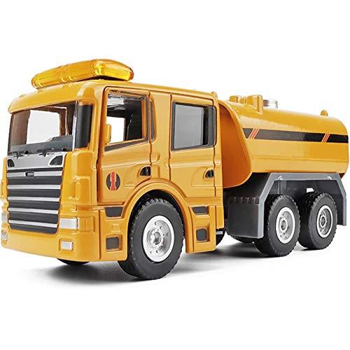 fangzhuo Vehículo de construcción 1:50 Modelo De Cisterna De Aleación De Alta Simulación, Modelo De Coche De Transporte, Colecciona Juguetes De Regalo
