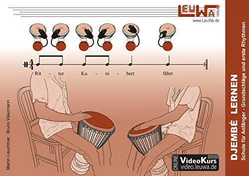 Djembé lernen: Schule für Anfänger - Grundschläge und erste Rhythmen