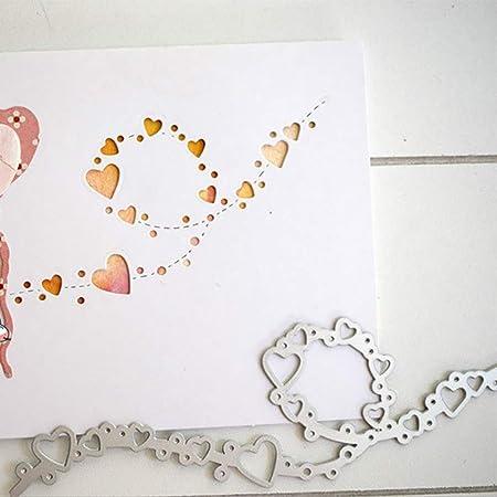 Stanzschablone Star Cutting Dies Geburtstag Weihnachten Hochzeit Karte Album DIY