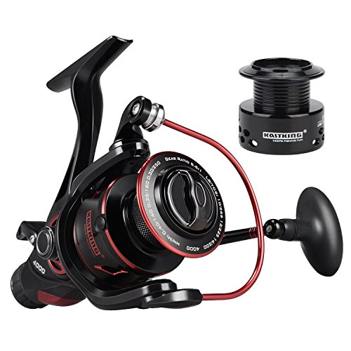 KastKing Sharky Baitfeeder III Spinning Fishing Reel,Size 4000