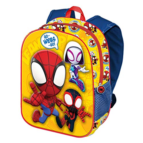 Spiderman Webs-Mochila 3D (Pequeña)