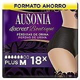 AUSONIA Discreet Boutique Braguitas para Pérdidas de Orina M Negras, Bloquean El...