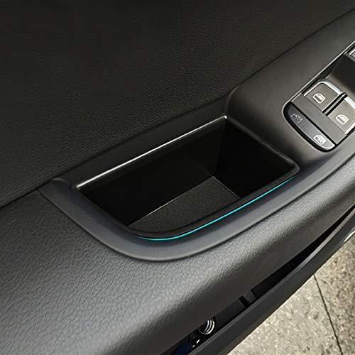 Xuping shop 2PCS / Lot Haustür Aufbewahrungsbehälter Griff Box-Handschuh Armlehne Box for Audi Q5 2009-2016 Car Styling