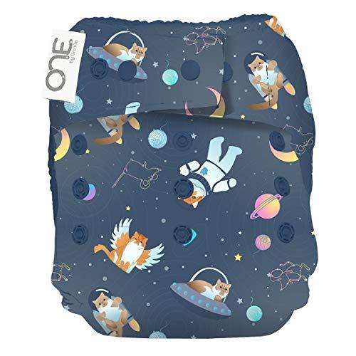 GroVia O.N.E. Reusable Baby Cloth Diaper (Cloud)