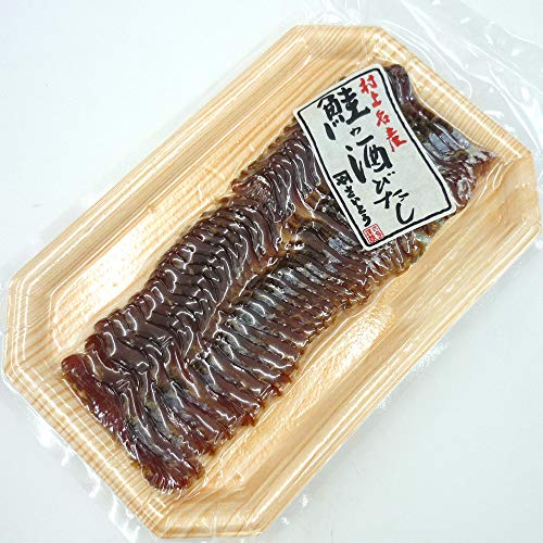 【お歳暮・冬ギフト】鮭の酒びたし 50g×2点セット/塩引き鮭を長期間干した新潟県村上の伝統的珍味