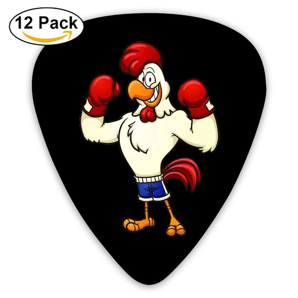 Cock Boxing Classic Guitar Pick (12 Pack) for Electric Guita Bass: Amazon.es: Instrumentos musicales