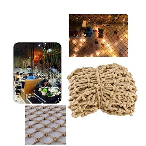 Safety net Safety Rope Net Plant Protection Net Railing Safety Netting, Terrace Shatter-resistant Net Retro Ceiling Net Outdoor Fence Net Restaurant Decoration Net Customizable Playground Protective n