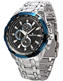 SWISSTYLE Analogue Men's Watch (Black Dial Silver Colored Strap)