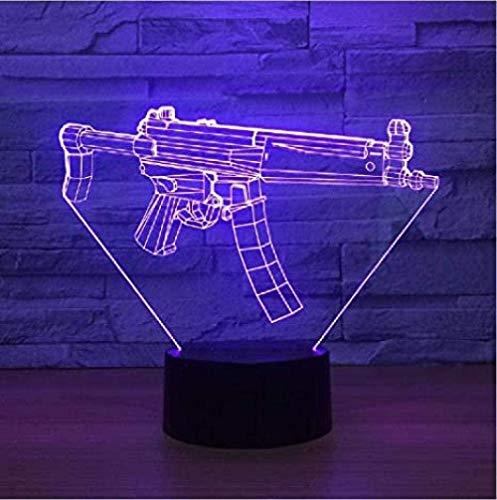 3D LED-Lampe für Kinder Neue Maschine Genthollampe Farbe LED Nightlamps für LED USB Tisch Lampara Lampe Babyschlaf Nachtlicht Drop Ship Geburtstag und Feiertage für Kinder