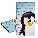 Stilbag Funda 'MIKA' para Samsung Galaxy J1 - Diseño: Ice Penguin