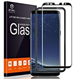 MP-MALL Screen Protector for Samsung Galaxy S8 Plus, [Tempered Glass] [Full Cover] [Alignment Frame Easy Installation] (Not Fits for Samsung Galaxy S8)