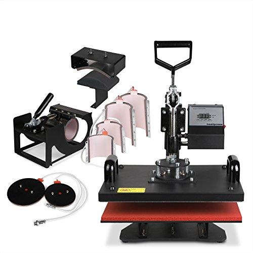 VEVOR Screen Printing Machine Screen Printing Press 4 Color 1 Station Silk Screen Printing for...