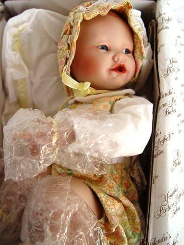 Yolanda Bello's Picture Perfect Babies LISA Doll by Ashton Drake