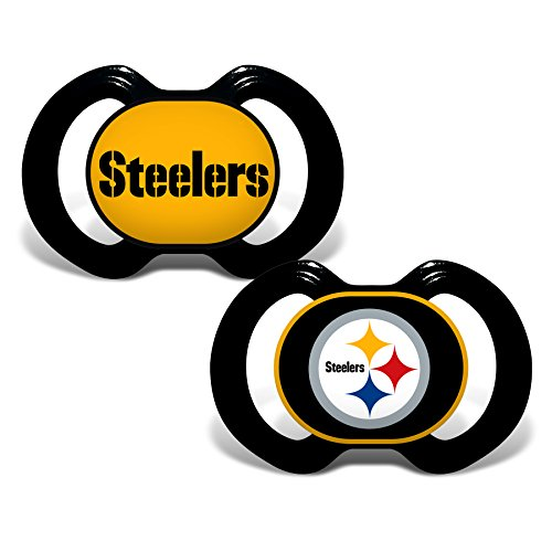 NFL Baby Fanatic Pittsburgh Steelers Schnuller-Set (2-Teilig)