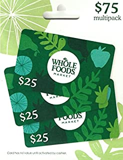 Whole Foods Market Gift Card, Multipack of 3