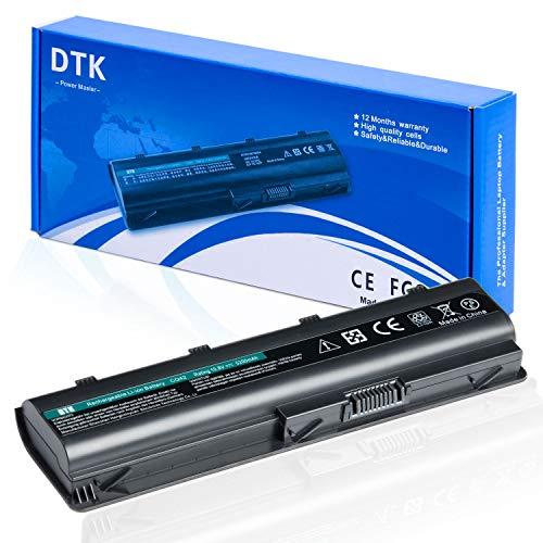 Dtk Batería de Repuesto para Portátil for Hp G32 G42 G62 G72 G4 G6 G6t G7 ; Compaq Presario Cq32 Cq42 Cq43 Cq430 Cq56 Cq62 Cq72 ; Hp Pavilion Dm4 ; Fits Mu06 593553-001 593554-001 Mu09 593550-001