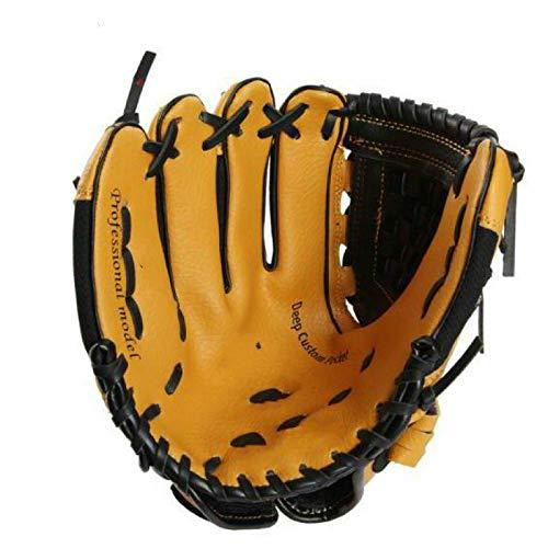 gdangel baseballhandschuhe 10 Zoll hohe Quanlity PVC rechte Hand Baseball Handschuh Kinder Kinder Softball Baseball Trainingshandschuhe für Kind