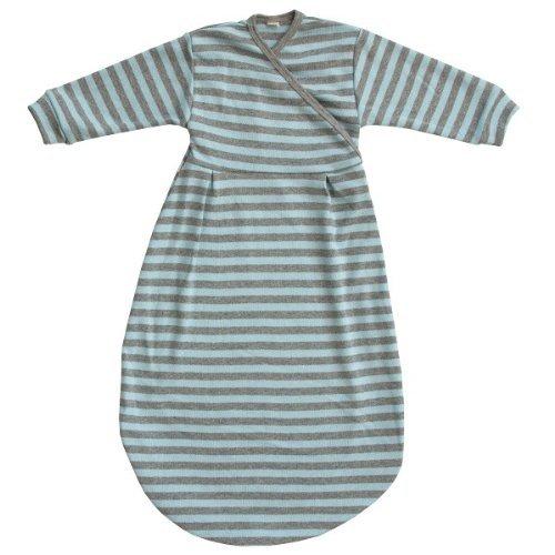 Popolini - Schlafsack Felinchen (74/80, Blue Grey Striped)