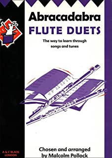 Abracadabra Flute Duets: The Way to Learn Through Songs and Tunes (Instrumental Music)