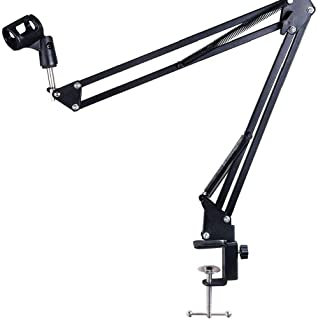 Microfoonarm Stand Verstelbare Bureau Suspension Boom Scissor Mic Arm Stand Desktop Mic Clip Hoder Voor Broadcasting Stage...