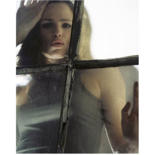 Alias 8x10 Photo Jennifer Garner in Grey Tank Top Looking Through Window kn