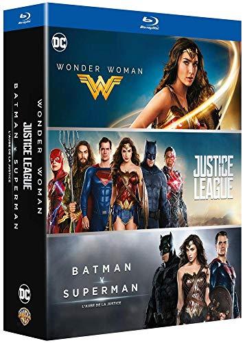 DC Universe - Coffret 3 films : Justice League + Wonder Woman + Batman v Superman : L'aube de la justice [Italia] [Blu-ray]