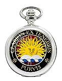 purvis - orologio da tasca con stemma scozzese
