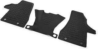 Volkswagen 7H1061500D82V Allwettermatten 3X Gummimatten vorn schwarz Gummi Fußmatten, nur Facelift T6.1