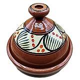 Ameublement Etnico Tajine 1801201007 Casserole Terre cuite Plat Marocain 35 cm